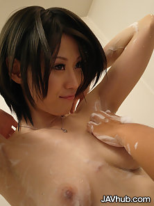 Pako Sukusuku is a petite schoolgirl that gets her mouth filled