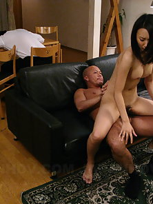 Yui Asao gets her needy and horny slit filled by the guest's hard rod.