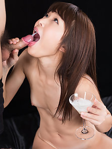 Adorable Asian whore and her cock craving disorder