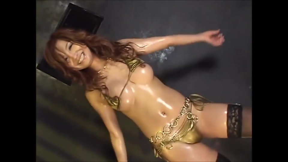 Erotic asian dance stage