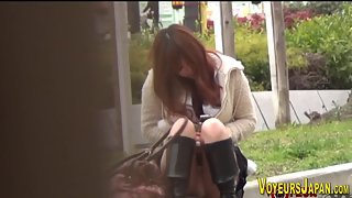 Asian toys outdoor and in public