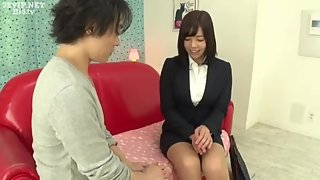 Petite asian schoolgirl shows off her cunt and banged