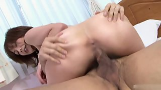 Small Boobs Babe Takes Hammering Pleasure from Her Guy