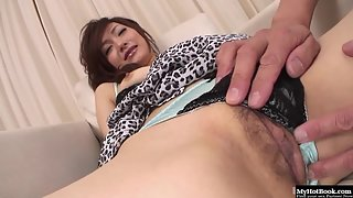 Mature Lady Gets Her Big Boobs Squeezed And Wet Pussy Rubbed